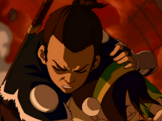 Toph Beifong s relationships - Avatar Wiki  the Avatar  The Last    Sokka Crying