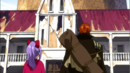 Gilldarts and Laki infront of the Mansion.PNG
