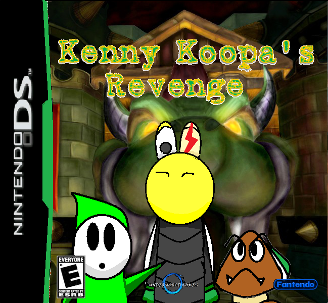 Koopa s revenge nintendo ds king bowser led a koopa troop kenny koopa