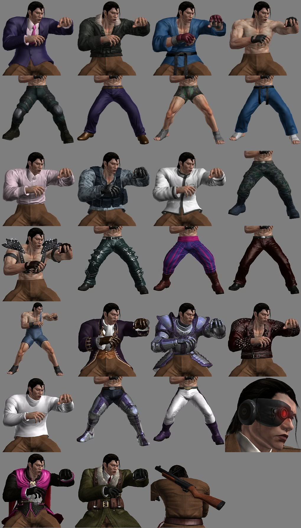 Image - Tekken Tag Tournament 2 Dragunov Customization ...