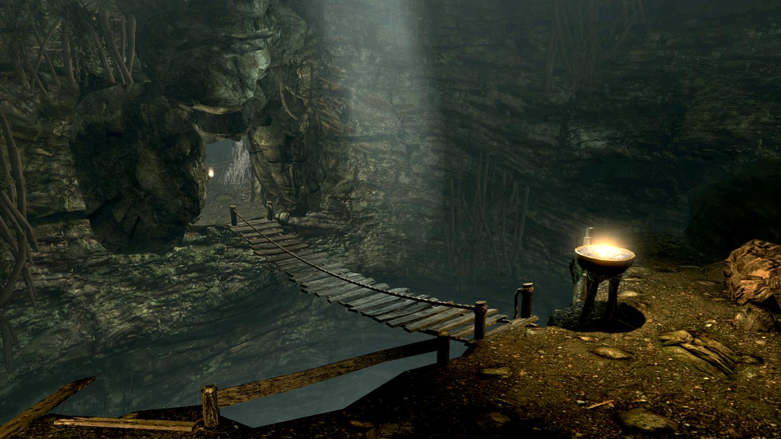 Darkfall Cave The Elder Scrolls Wiki