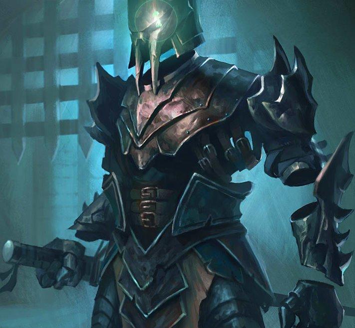 undead book Armor