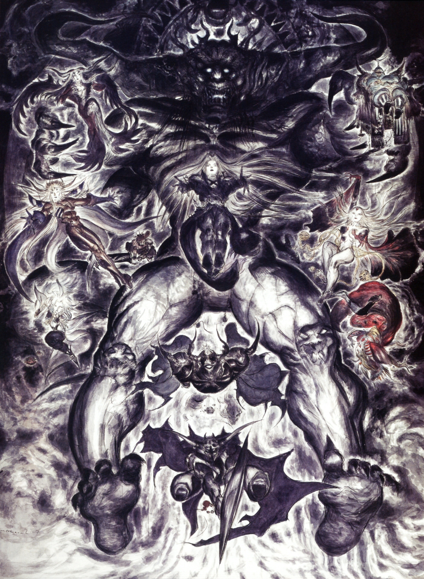 Chaos (Final Fantasy)/Dissidia - The Final Fantasy Wiki - 10 years of ...