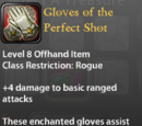 Gloves of the Perfect Shot