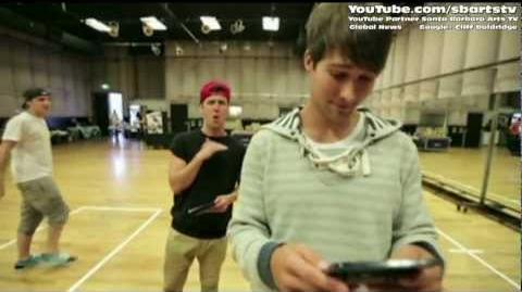Mario Kart 7 Summer Tour with Big Time Rush