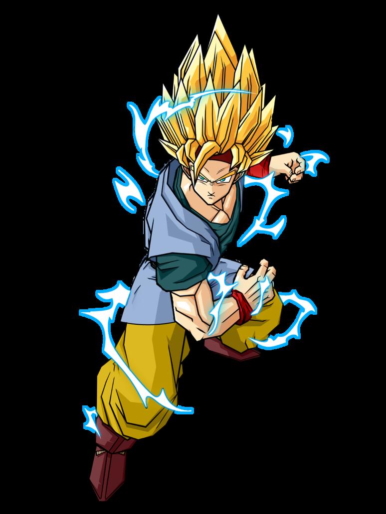 Goku jr hitman12 39 s version ultra dragon ball wiki - Goku super sayen ...