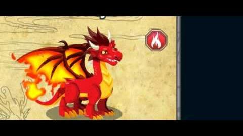 Dragon City Fire dragon animation collection.