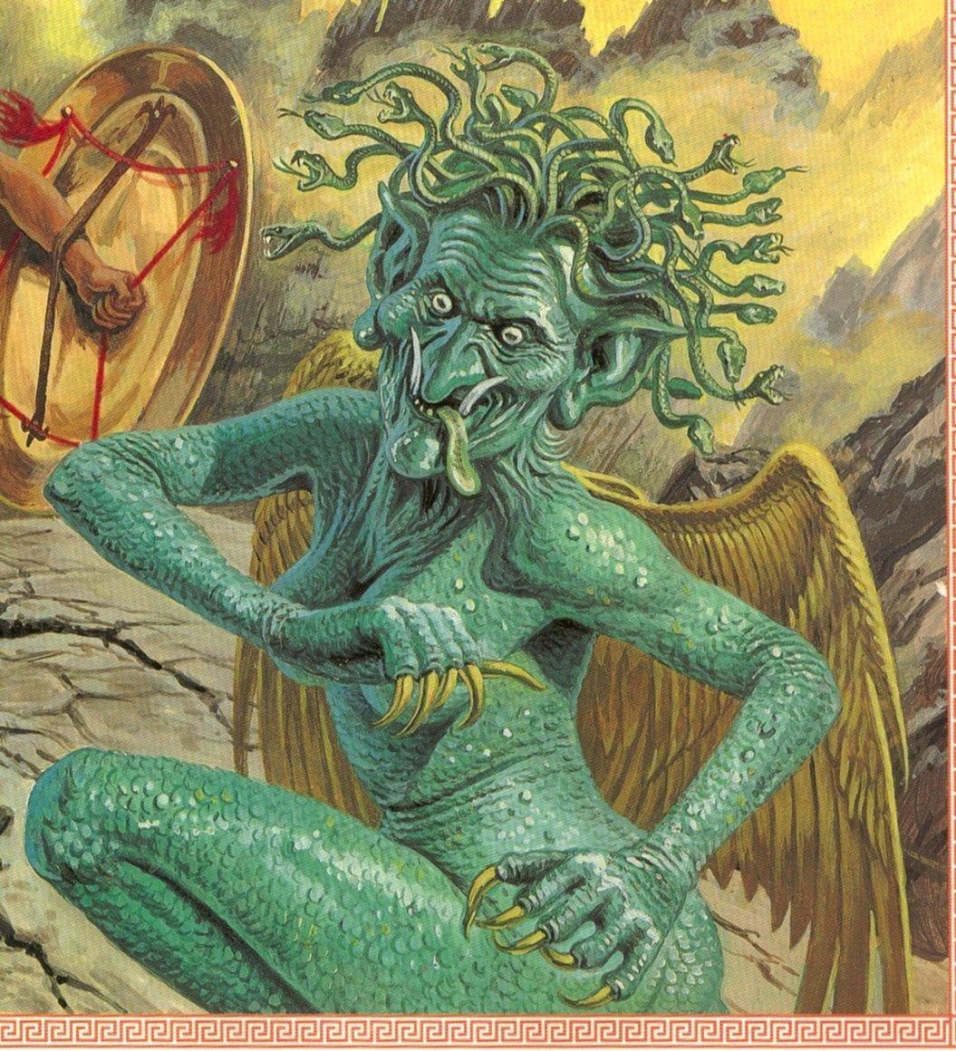 Gorgon - Warriors Of Myth Wiki | 1055 x 1160 jpeg 328kB