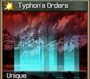 Typhon's Orders