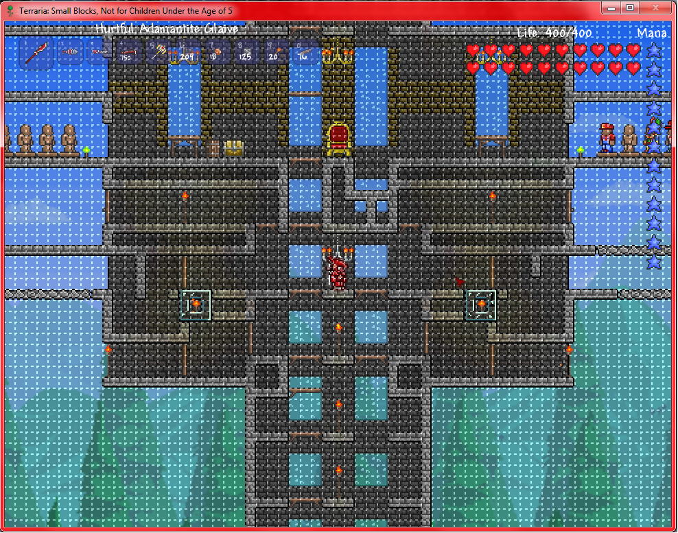 Player Made Structures Terraria Wiki