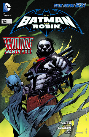 Cover for Batman and Robin #12 (2012)