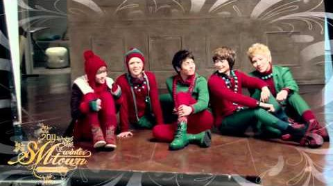 2011 SMTOWN Santa U Are The One Music Video