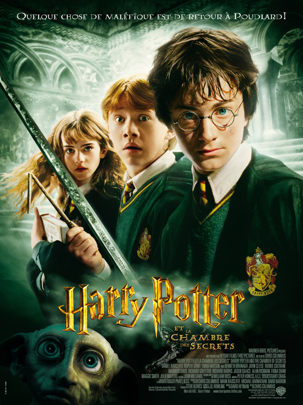Harry potter et la chambre des secrets film wiki harry - Fiche de lecture harry potter et la chambre des secrets ...