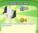 CitySim iTowel Rack