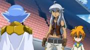 Damian atende Tsubasa e Yu