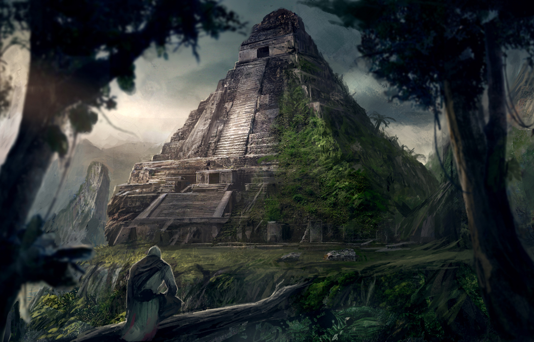 HOLOGRAPHIC UNIVERSE : EXPOSURE 2 DISCLOSURE Lost-mayan-ruins_concept_art