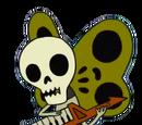 Mariposa Esqueleto
