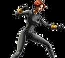Grey Suit Black Widow