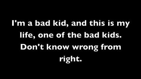 Bad Kids - Lady GaGa (Lyrics)