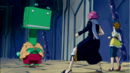 Natsu and Coco confronted by Guttman.png