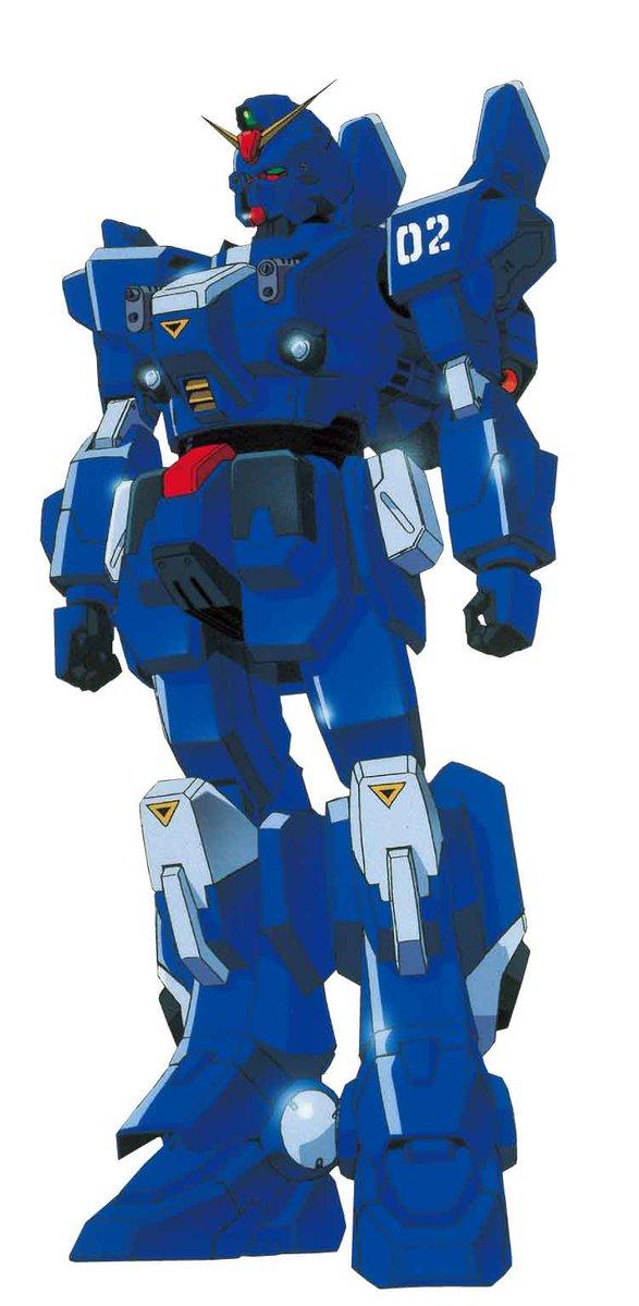RX-79BD-2 Blue Destiny Unit 2 Rx-79bd-2