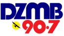 The Old logo DZMB-FM 90.7 1980s.png