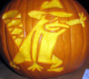 Newsletter submissions/Behold... The Perry the Platypus Jack O'Lantern-inator!