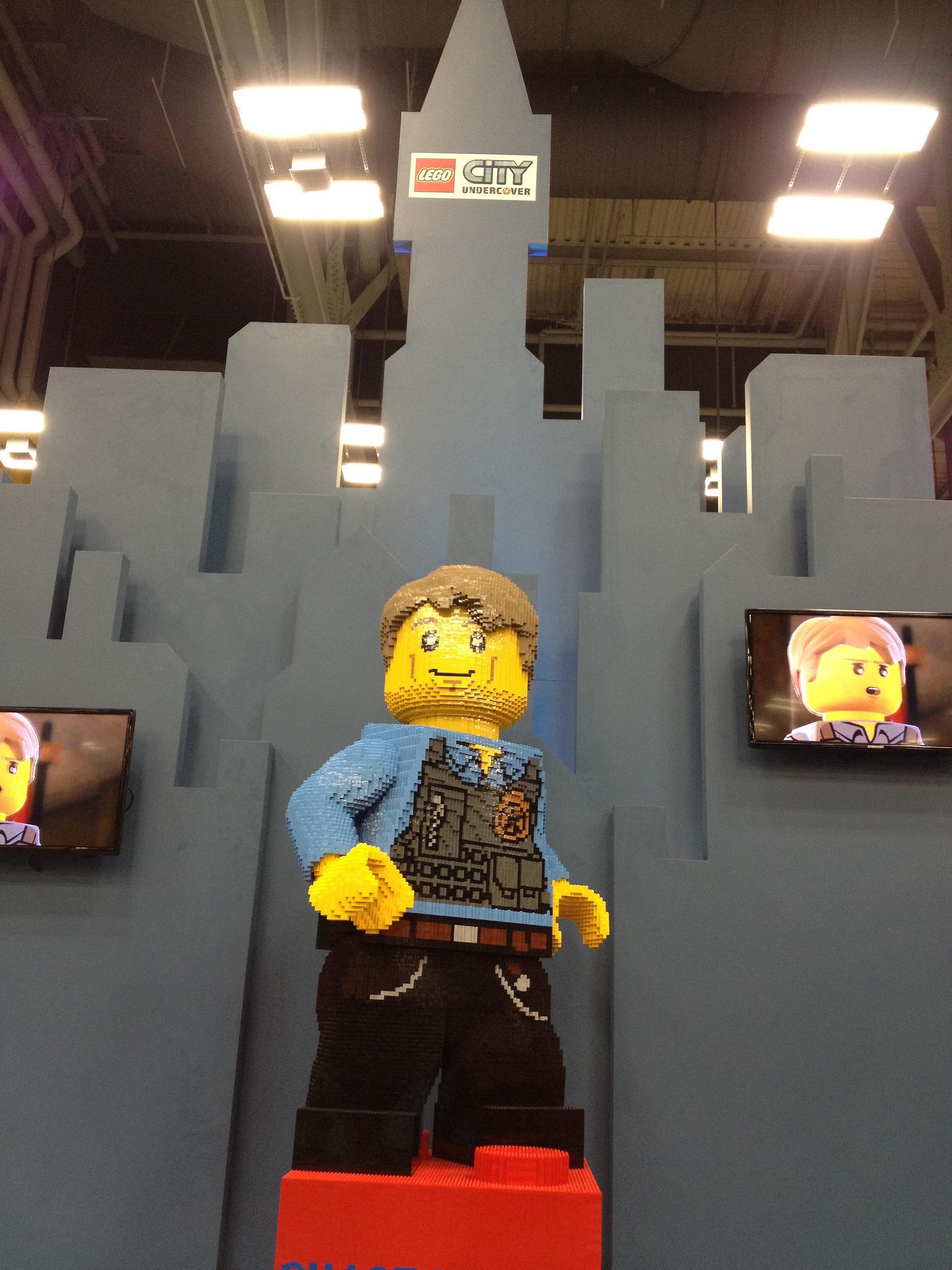Lego City Undercover Chase Mccain Civilian A brick-built chase mccain    Lego City Undercover Chase Mccain Civilian
