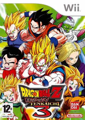 Dragon Ball Z Budokai Tenkaichi 3 (Wii)
