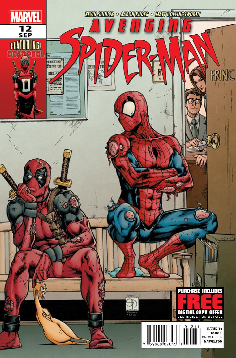 Avenging Spider-Man Vol 1 12 - Marvel Comics Database
