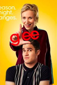 Blue Blaine Sue glee promo