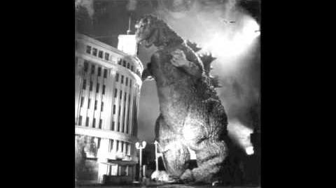 Godzilla 1954-1955 Roars