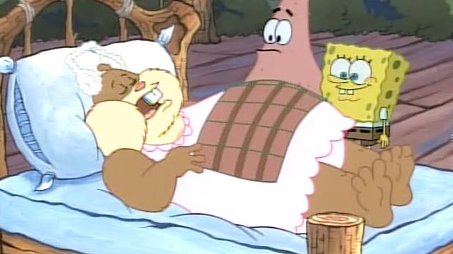 Sandy From Spongebob Hibernation - 74.6KB