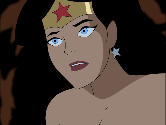 Wonder Woman Beaten Justice League Wonder Woman/Di...