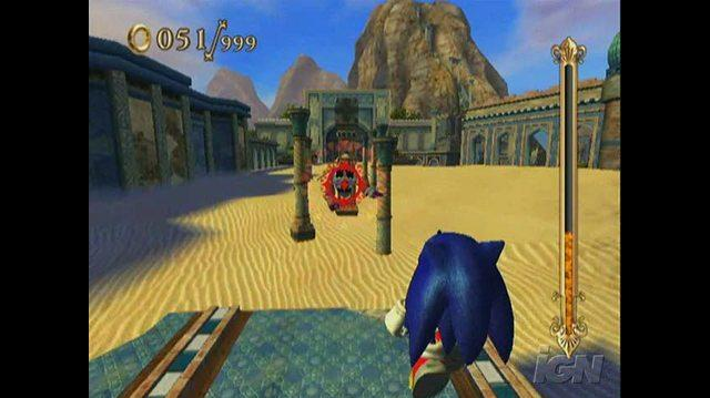 Sonic and the Secret Rings Nintendo Wii Gameplay - Over the Water