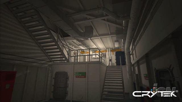 Crysis PC Games Gameplay - CryENGINE 2 Demo