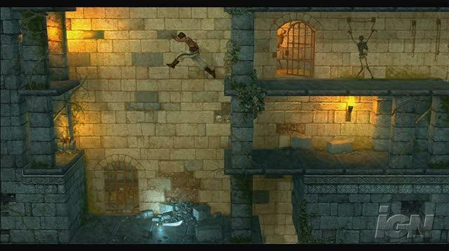 Prince of Persia Classic Xbox Live Gameplay - Dungeon Escape