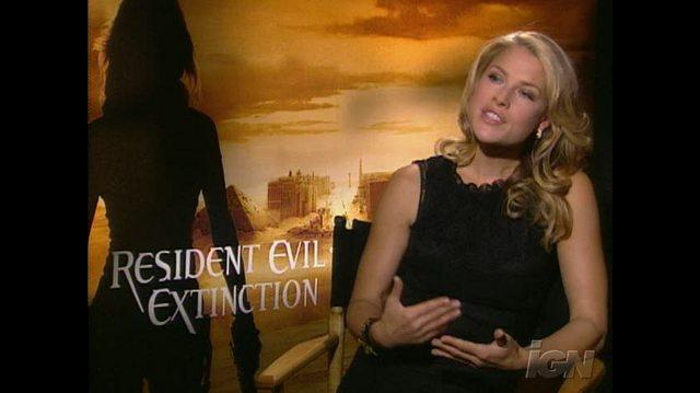Resident Evil Extinction Movie Interview - Video Interviews