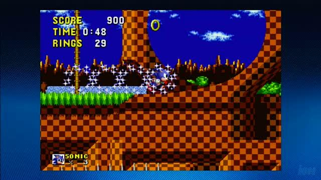 Sonic The Hedgehog Arcade Xbox Live Gameplay - Gameplay 1