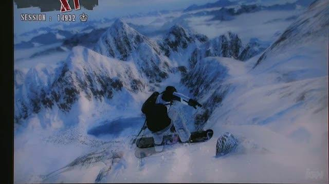 Shaun White Snowboarding Xbox 360 Feature-Commentary - Developer Commentary Tearing Up the Slopes