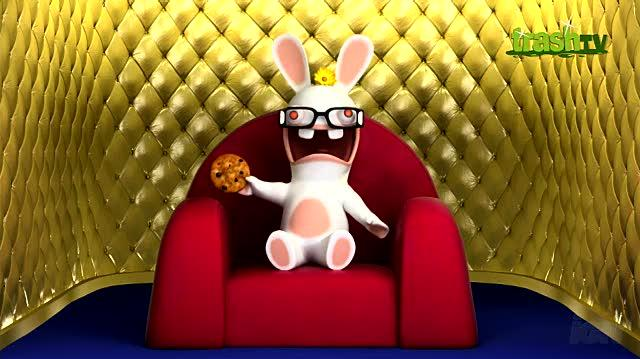 Rayman Raving Rabbids TV Party Nintendo Wii Trailer - Cookie