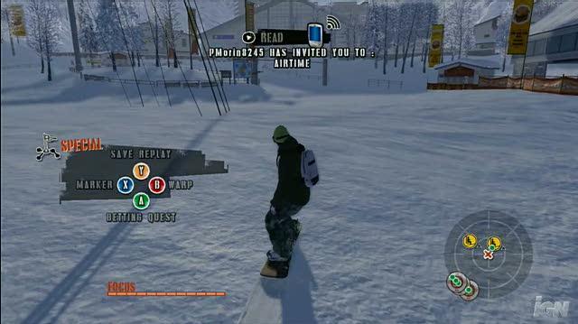 Shaun White Snowboarding Xbox 360 Gameplay - Alaska Mountain Run