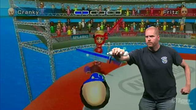 Wii Sports Resort Nintendo Wii Gameplay - 1 1 Wii Motion Plus Demo Swordplay