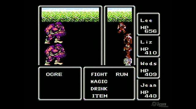 Final Fantasy Retro Game Gameplay - Gameplay