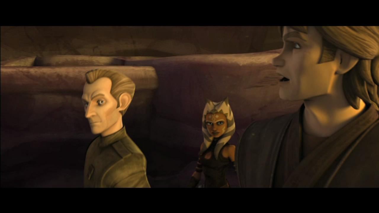 The Clone Wars Anakin and Tarkin Begin to Bond