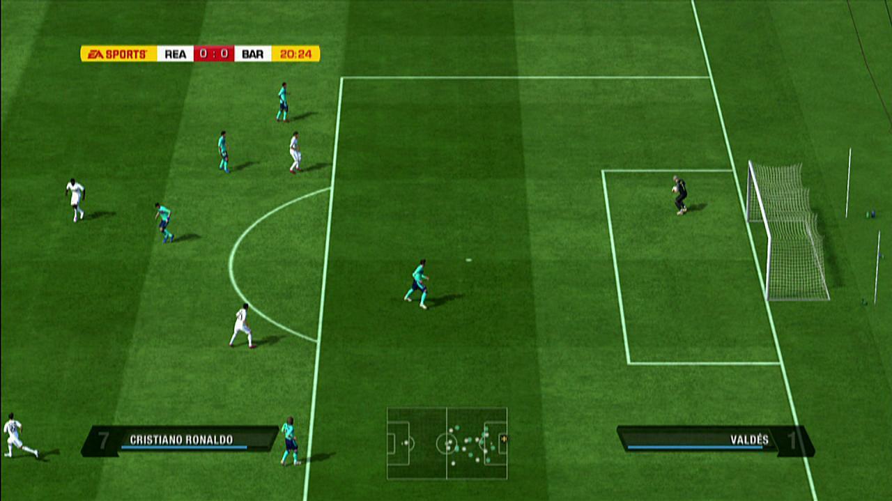 FIFA 11 Real Madrid vs. Barcelona