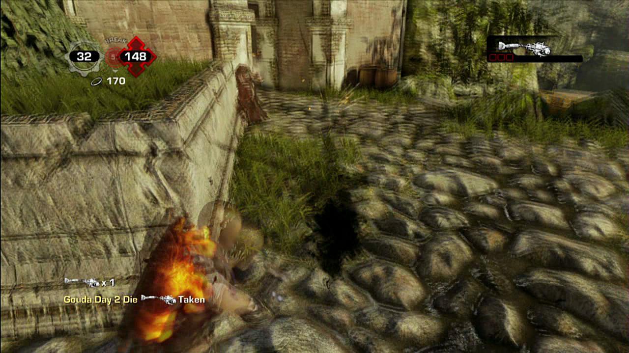 Gears of War 3 Your Own Ink Cloud