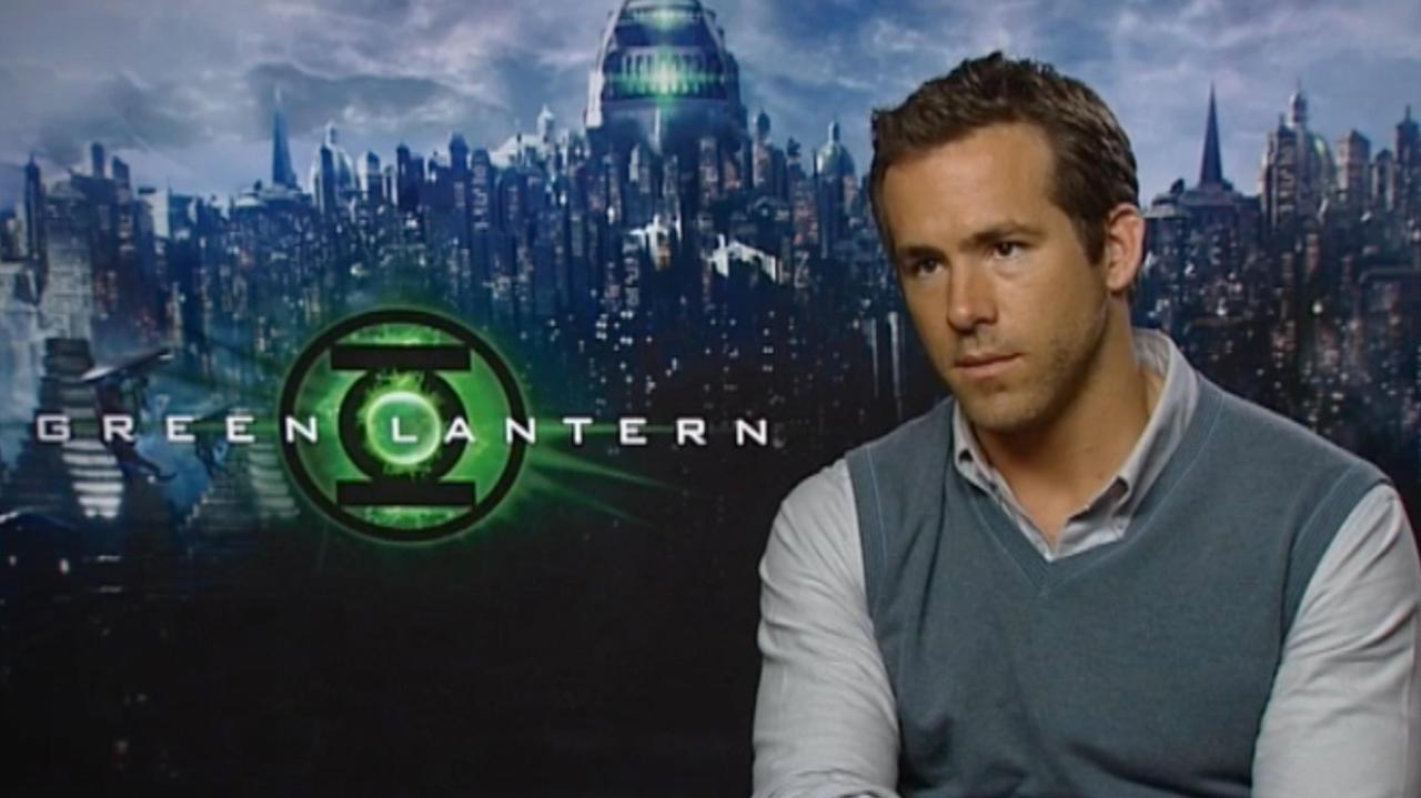 Ryan Reynolds Talks Green Lantern 2 & 3