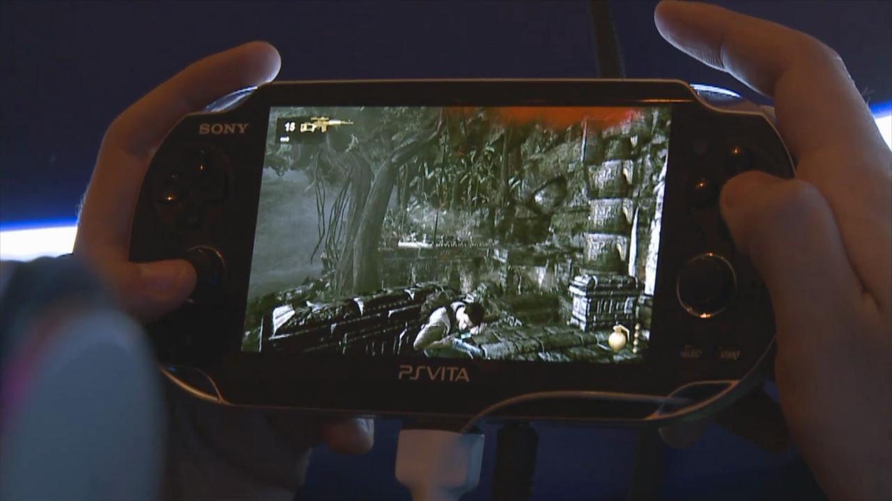 Gamescom Uncharted Golden Abyss Gameplay 2