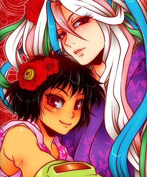 Toriko Wiki: Sunny And Rin-chan.jpg
